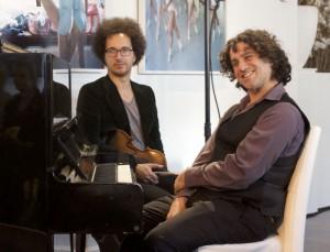 Sietse van Gorkom & Amir Swaab luisteren